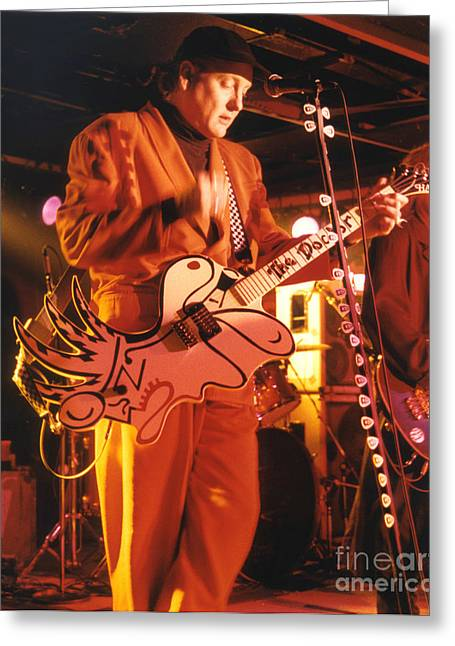 Cheap Trick-93-rick-3 Greeting Card by Gary Gingrich Galleries