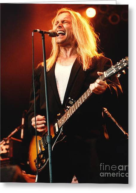 Cheap Trick-95-robin-2 Greeting Card by Gary Gingrich Galleries