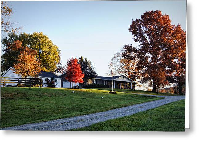 Cheavens Home Place Greeting Card by Cricket Hackmann