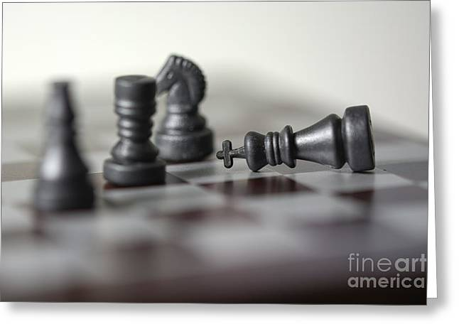 Checkmate Greeting Cards - Checkmate Greeting Card by Andrea Incerti