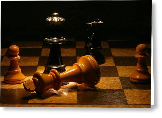 Checkmate Greeting Cards - Checkmate Greeting Card by Brad Barton