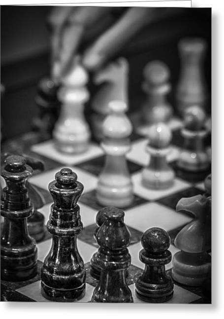 Checkmate Digital Art Greeting Cards - Checkmate Greeting Card by James Woody