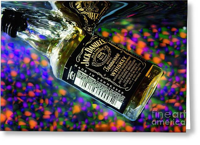 Happy Glass Art Greeting Cards - Cheers to Photography Greeting Card by Imani  Morales