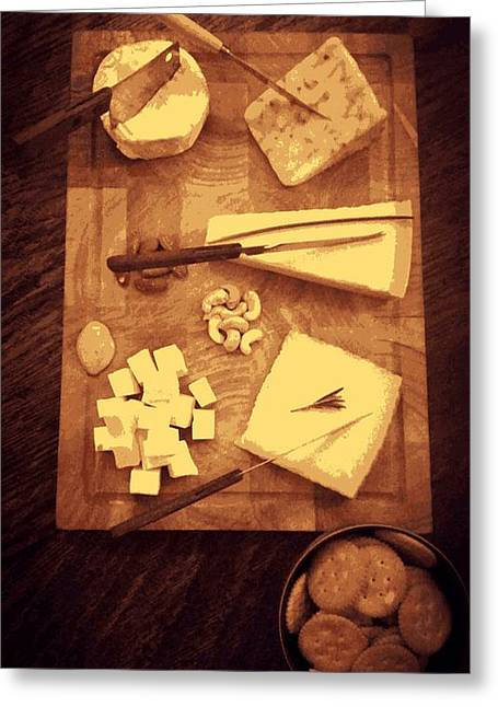 Swiss Culture Greeting Cards - Cheese Board Greeting Card by Semmick Photo