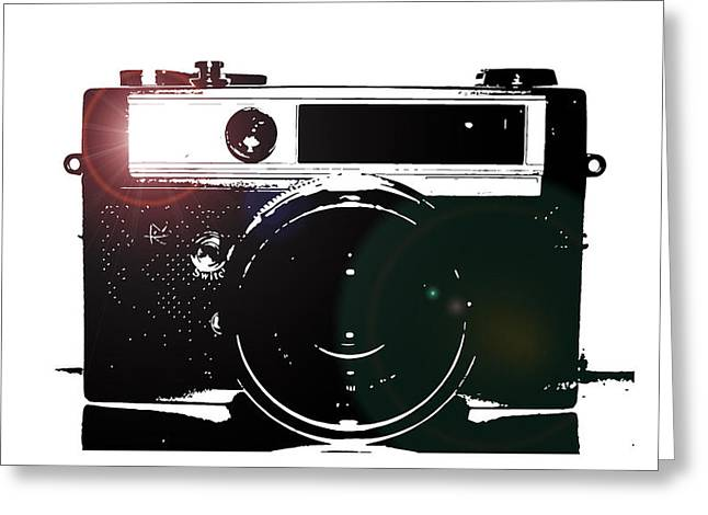 Lens Mixed Media Greeting Cards - Cheese Greeting Card by Steven  Taylor