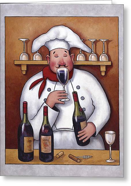 Zaccheo Greeting Cards - Chef 1 Greeting Card by John Zaccheo