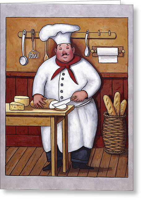 Zaccheo Greeting Cards - Chef 3 Greeting Card by John Zaccheo
