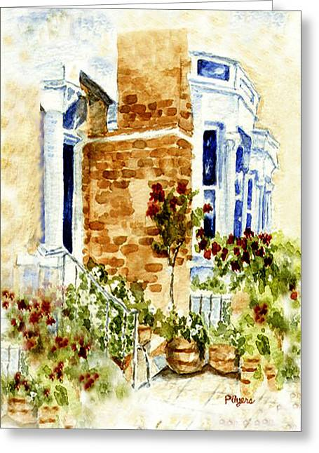 United Kingdom Greeting Cards Greeting Cards - Chelsea Row Greeting Card by Paula Ayers