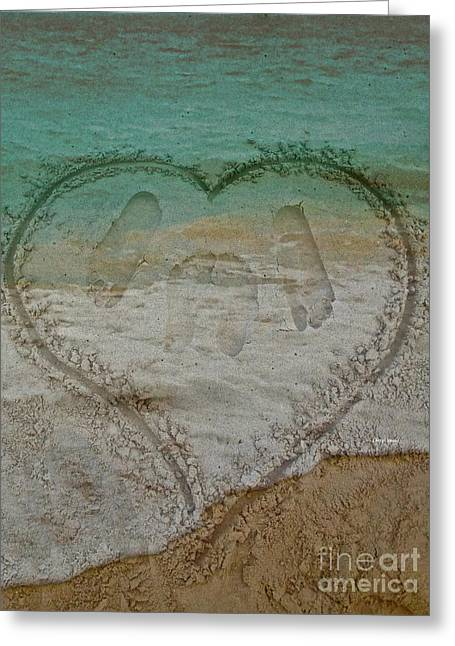 Print Making Greeting Cards - Cherish every day Greeting Card by Cheryl Young