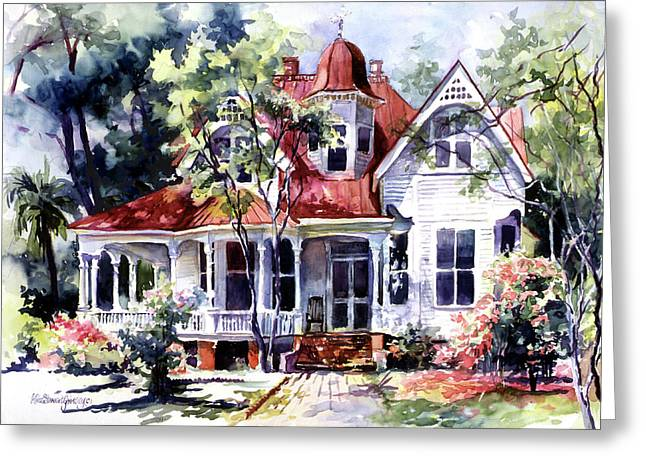 Southern Comfort Greeting Cards - Cherished Memories Greeting Card by Alice Grimsley