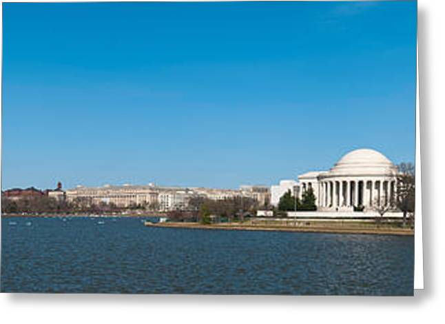 National Mall Greeting Cards - Cherry Blossom Buds Just Before Full Greeting Card by Panoramic Images