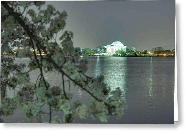 Cherry Blossoms 2013 - 102 Greeting Card by Metro DC Photography