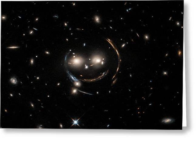 Cheshire Cat Galaxy Group Greeting Card by Nasa/chandra X-ray Observatory Center