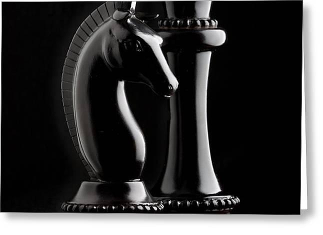 Chess III Greeting Card by Tom Mc Nemar