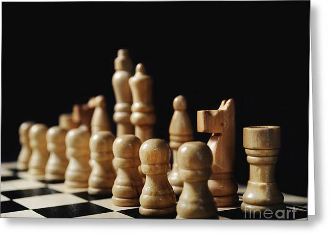 Chess Greeting Cards - Chess Greeting Card by Jelena Jovanovic