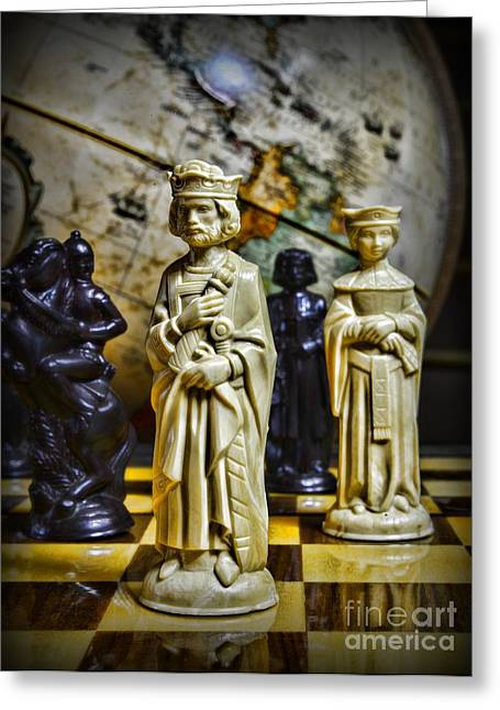 Chessmen Greeting Cards - Chess - The Sacrifice Greeting Card by Paul Ward