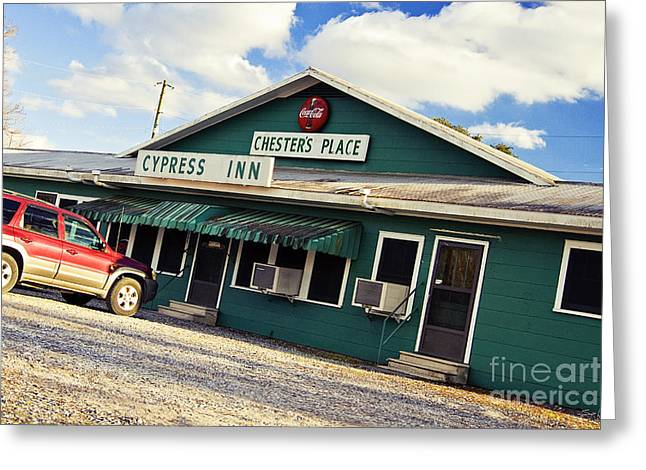 Local Restaurants Greeting Cards - Chesters Greeting Card by Scott Pellegrin