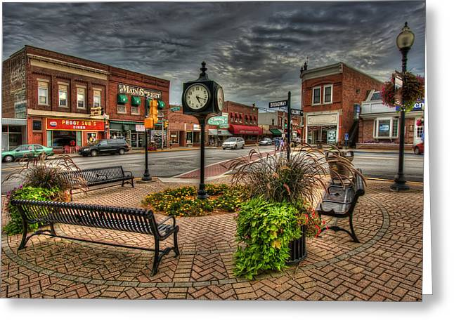 Chesterton 2-1 Greeting Card by Scott Wood