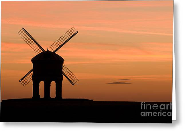 Wark Photographs Greeting Cards - Chesterton Sunset Greeting Card by Anne Gilbert