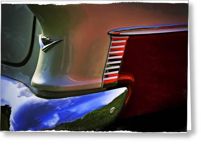 Red Chev Greeting Cards - Chev Greeting Card by Jerry Golab