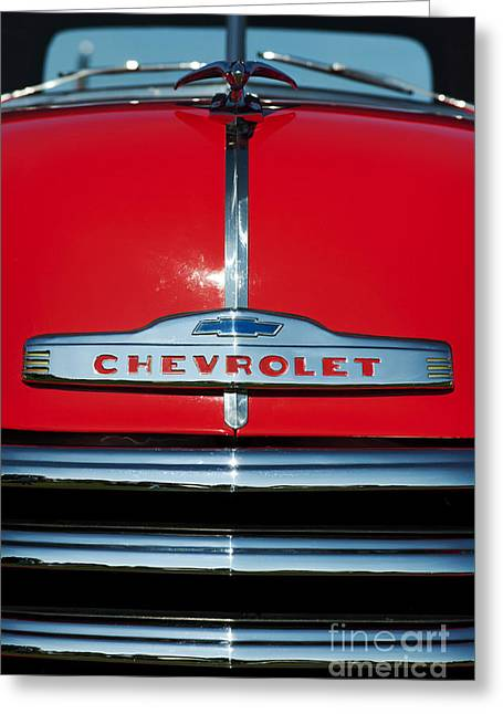 Chevrolet 3100 1953 Pickup Greeting Card by Tim Gainey