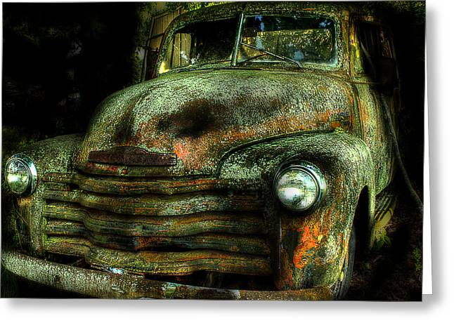 Chevy Pickup Greeting Cards - Chevrolet 3100 Greeting Card by Michael Eingle