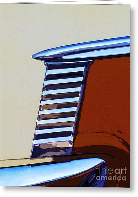Chevrolet Belair Greeting Card by Elena Nosyreva