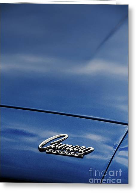 General Motors Company Greeting Cards - Chevrolet Camaro Greeting Card by Tim Gainey