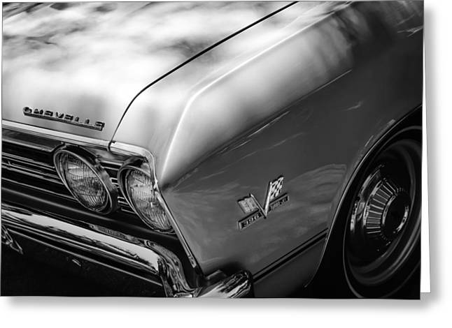 Chevrolet Chevelle Greeting Cards - Chevrolet Chevelle SS Grille Emblems Greeting Card by Jill Reger