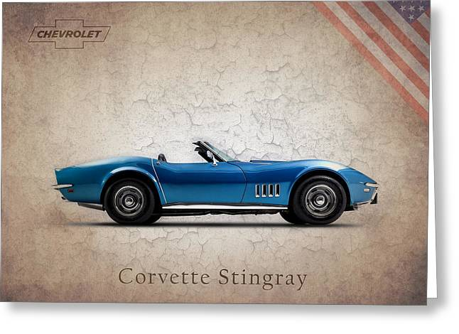 Chevrolet Photographs Greeting Cards - Chevrolet Corvette Stingray Greeting Card by Mark Rogan
