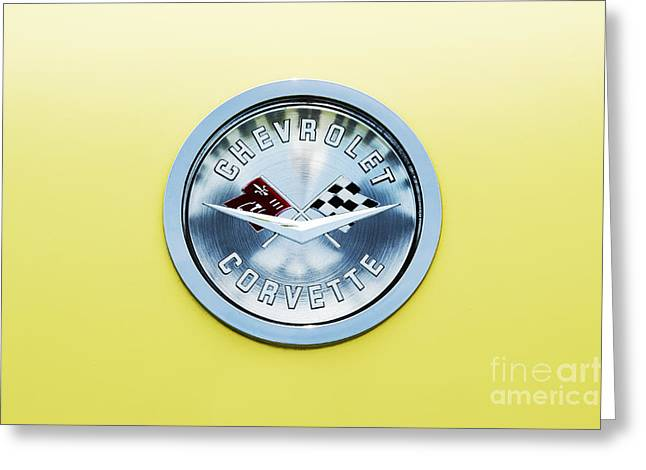 General Motors Company Greeting Cards - Chevrolet Corvette  Greeting Card by Tim Gainey