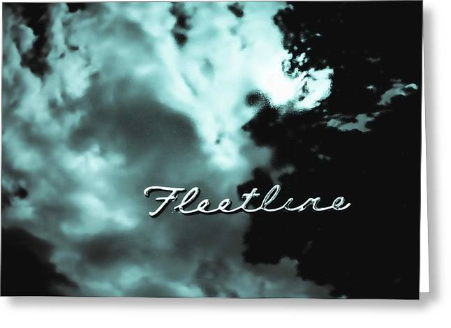Fleetline Emblem Greeting Cards - Chevrolet Fleetline Greeting Card by Phil