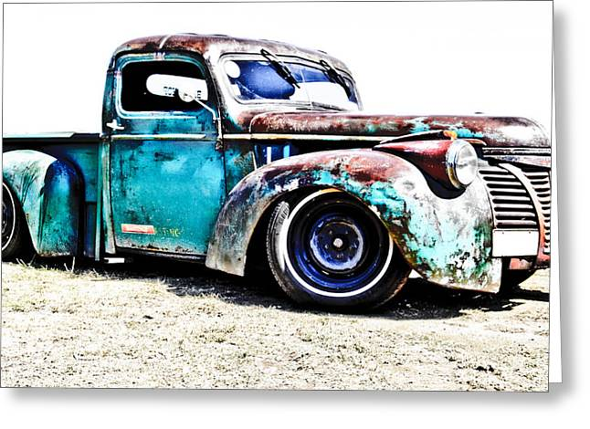 Rusty Pickup Truck Greeting Cards - Chevrolet Pickup Greeting Card by Phil