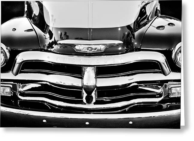 Chevy Pickup Greeting Cards - Chevrolet Pickup Truck Greeting Card by Jill Reger