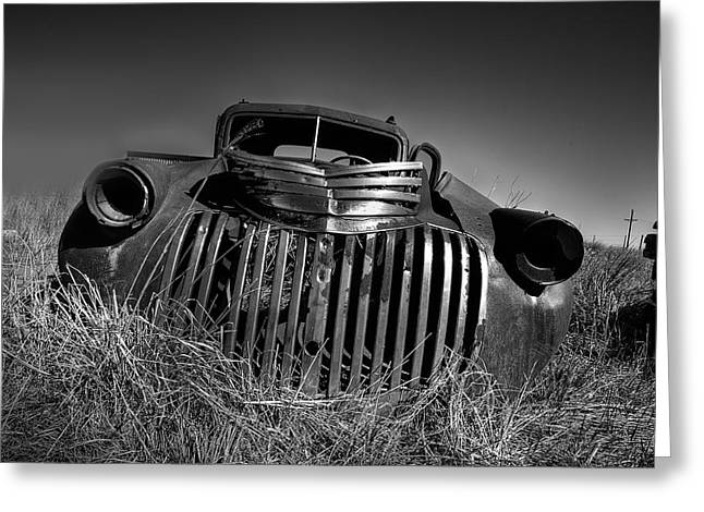 Chevy Pickup Greeting Cards - Chevy Pickup Greeting Card by Peter Tellone