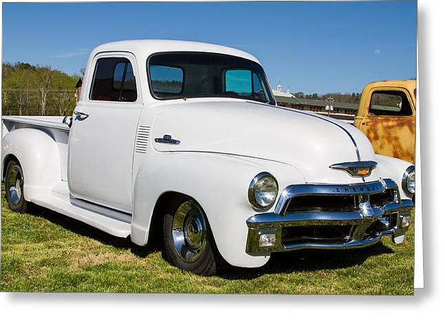 Coolant Greeting Cards - Chevy Truck Greeting Card by Robert L Jackson