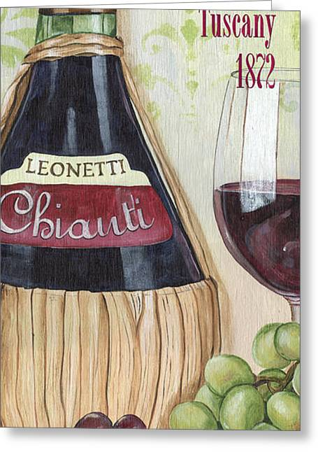 Interior Still Life Greeting Cards - Chianti Classico Greeting Card by Debbie DeWitt
