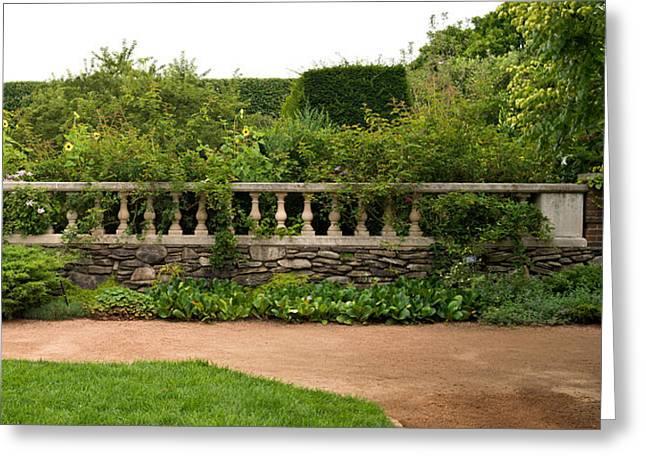 Chicago Botanic Garden Greeting Cards - Chicago Botanic Garden Scene Greeting Card by Steve Gadomski