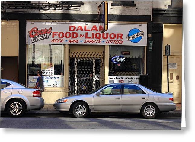 Grocery Store Greeting Cards - Chicago Grocery Greeting Card by Frank Romeo