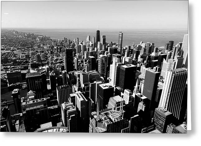 Chi Town Greeting Cards - Chicago TM 023 Greeting Card by Lance Vaughn