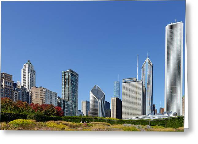 One Greeting Cards - Chicago - What a beautiful city Greeting Card by Christine Till