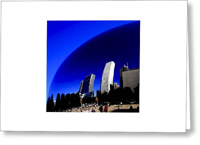 The Bean Greeting Cards - Chicago_09.09.12 Greeting Card by Paul Hasara
