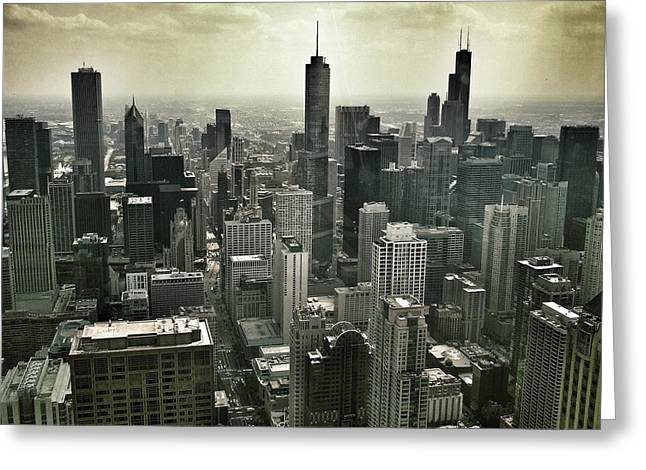 Diane Reed Greeting Cards - Chicago2 Greeting Card by Diane Reed