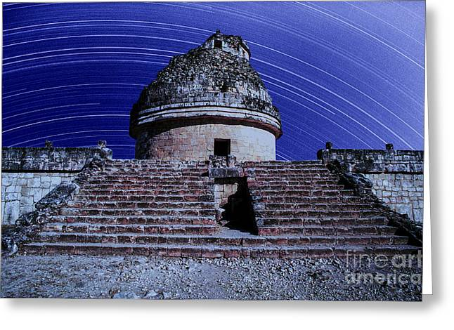 Chichen Itza Greeting Cards - Chichen Itza Greeting Card by Jerry McElroy