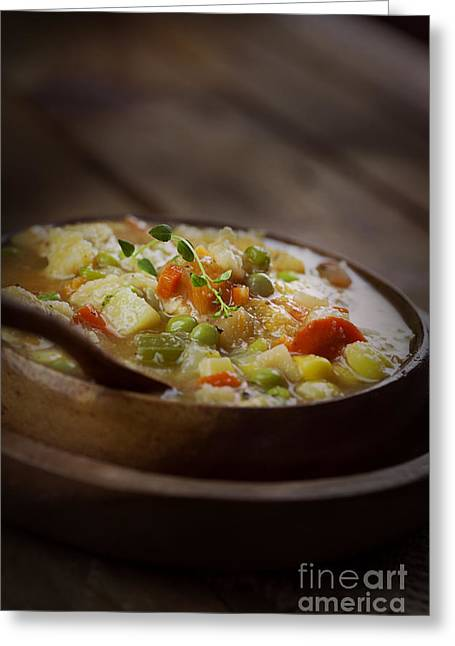 Stew Greeting Cards - Chicken stew Greeting Card by Mythja  Photography