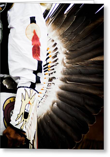 Chief Greeting Card by Off The Beaten Path Photography - Andrew Alexander