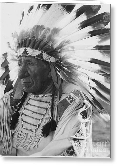Chief Red Cloud Greeting Cards - Chief Red Cloud Greeting Card by Celestial Images