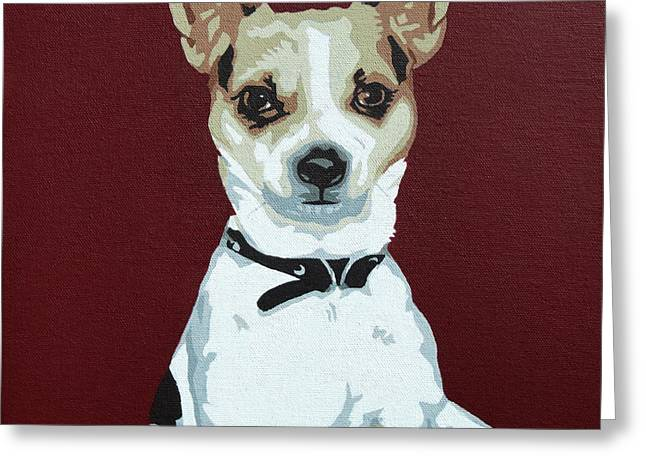 Toy Dogs Greeting Cards - Chihuahua 2 Greeting Card by Slade Roberts