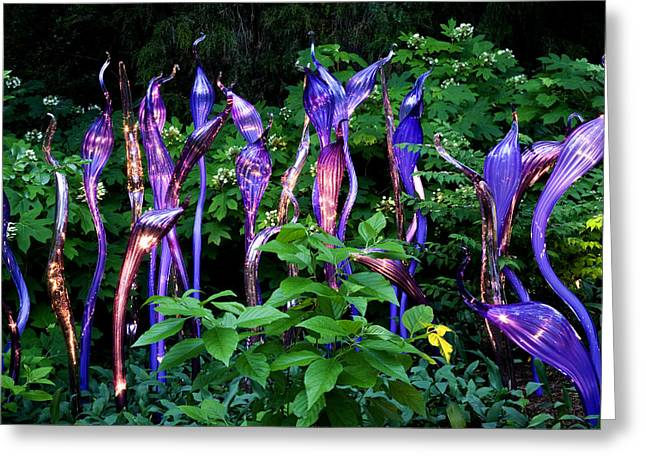 Cheekwood Photographs Greeting Cards - Chihuly Woods Greeting Card by Diana Powell