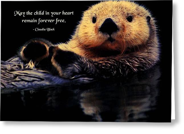 Child in Your Heart Greeting Card by Mike Flynn